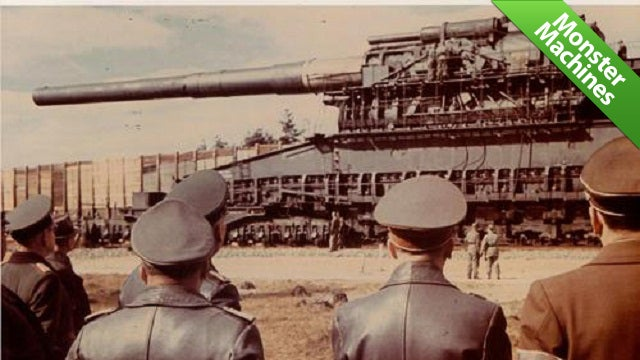 The Largest Gun Ever Built