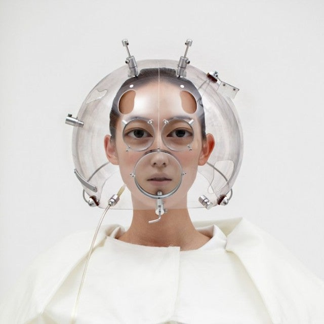 These optical helmets are like funhouse mirrors for your face
