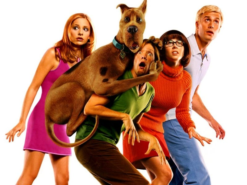 A Scooby-Doo Reboot Is in the Works, Because Two Movies Weren't Enough