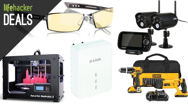 Deals: Makerbot Replicator, Gunnars, Amplified Antenna, DEWALT Tools