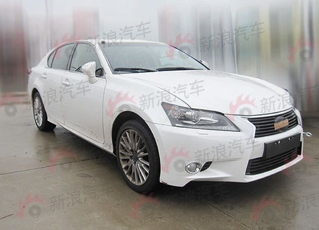 2013 Lexus GS is too boring to be ugly
