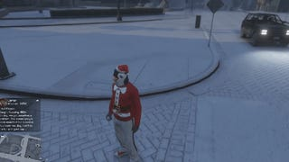 <i>GTA Online</i> Has Snowballs Now, Because Christmas
