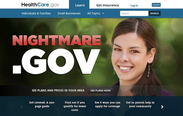 U.S. Gov't Changed Your HealthCare.gov Password Because of Heartbleed