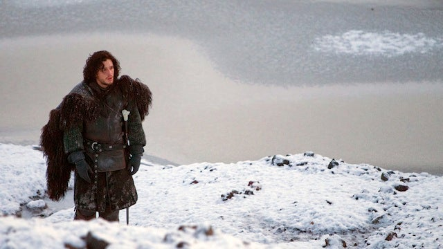Jon Snow explains exactly how cold it is beyond the wall (Hint: It's freakin' cold