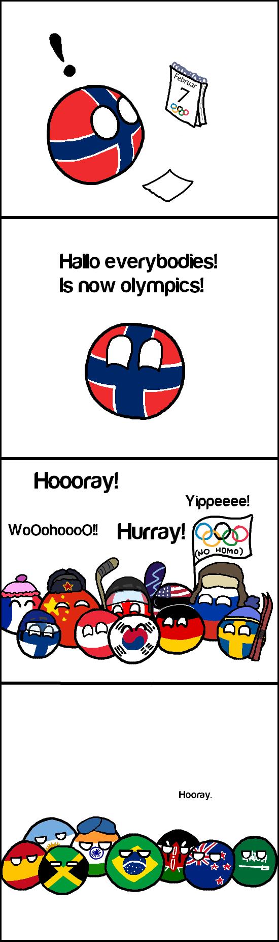 Daily Polandball: The Olympics.