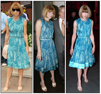 Anna Wintour Wears Same Dress (And Shoes) Three Times—What Is She Trying to Tell Us?