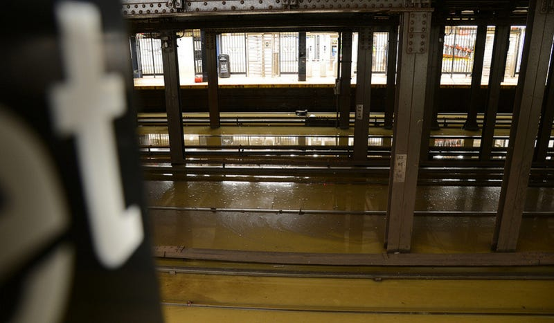 Watch A New York City Subway Flood After A Watermain Break