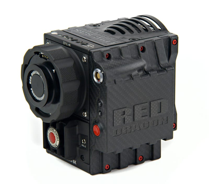 This Intense Carbon Fiber RED Dragon Camera Will Film Game of Thrones
