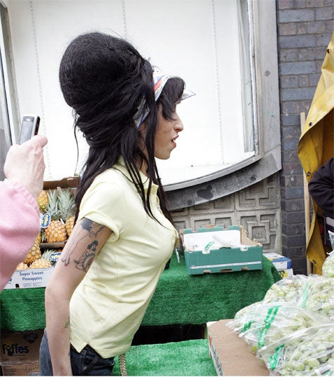 Amy Winehouse Arrested For Assault