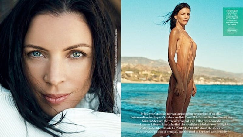 Liberty Ross is Over Her Cheating Ex. So Over Him, Here's Her Nipple