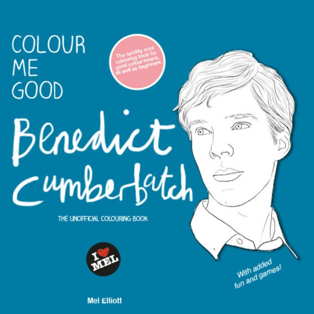 Ryan Gosling, Benedict Cumberbatch Coloring Books Are Must-Haves