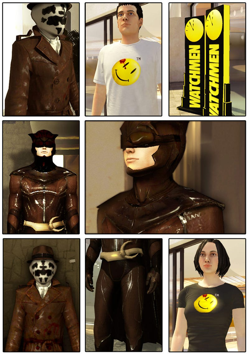 Watch The Watchmen Invade PlayStation Home
