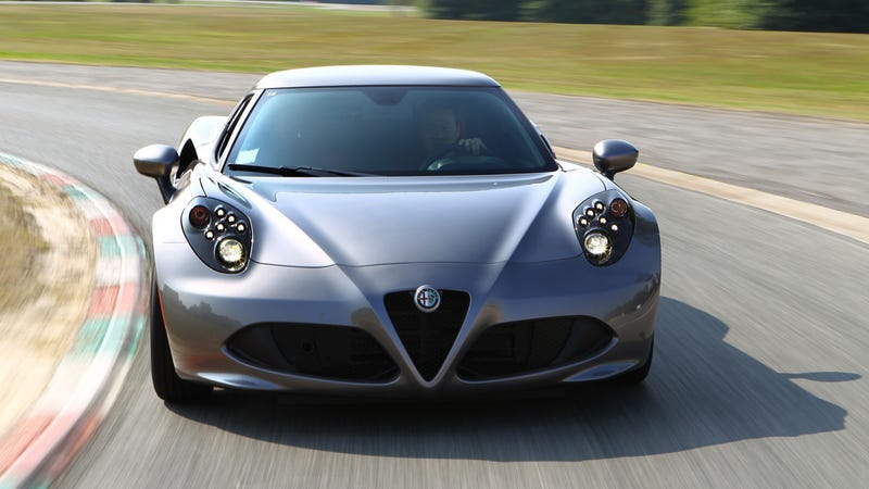The Alfa 4C is like a Transformer: It turns into a Ferrari