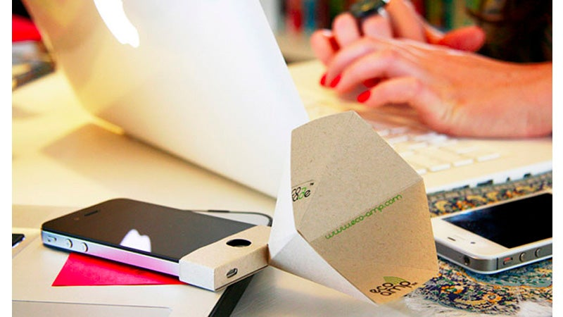 The $4 iPhone Paper Speaker Booster We Want To Hate But Kind Of Love