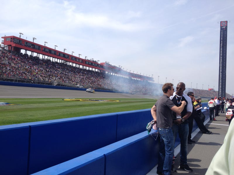 Up Close and Personal at a NASCAR Race