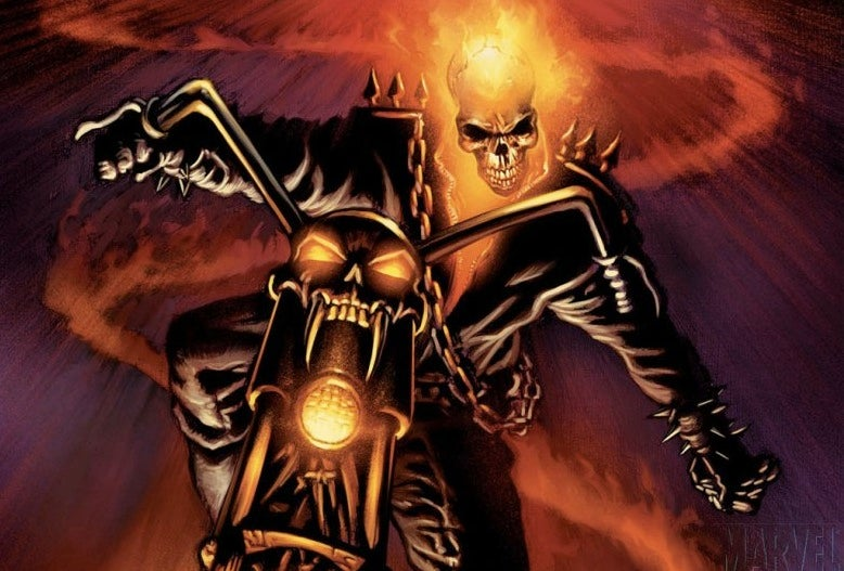 Nightmarish new Ghost Rider pees fire from his glitter pants