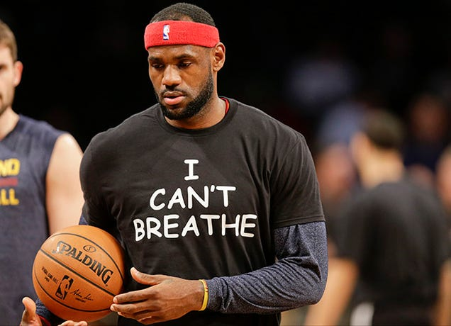 "High School Bans ""I Can't Breathe"" T-Shirts at Basketball Tournament"