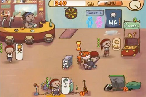 Serve Pirates Beer in this Free Barrr Android App Game