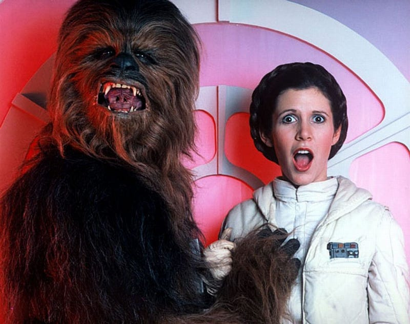 The Guy Who Played Chewbacca Really Wanted to Bang Carrie Fisher