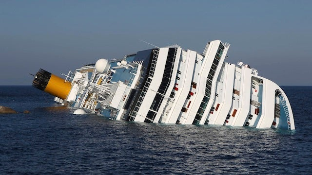 Cruise Ship Disaster Is Apparently Proof That Chivalry Is Dead