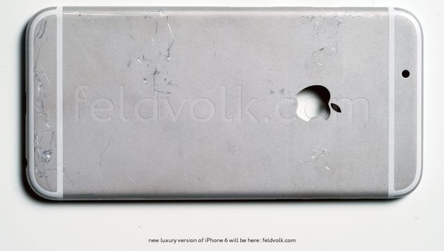 High Quality Images of the iPhone 6's Supposed Rear Shell