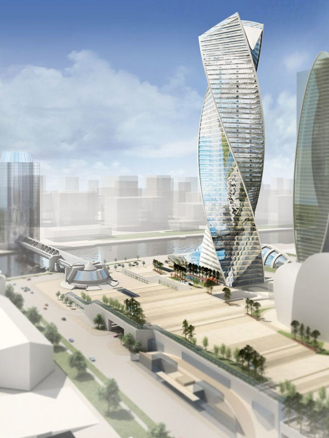 Check Out All These Gaudy-Ass Skyscrapers Going Up in Russia