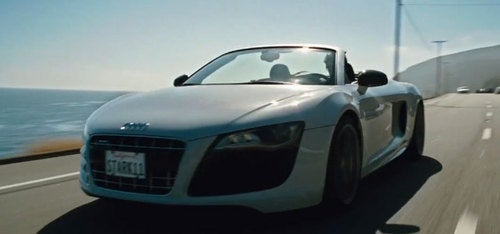 New Iron Man 2 Trailer Features Audi R8 V10 Spyder, More Scarlett