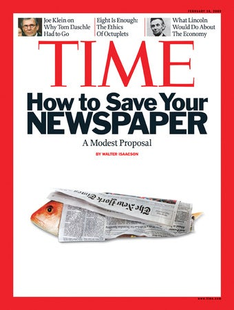 How Not to Save Newspapers