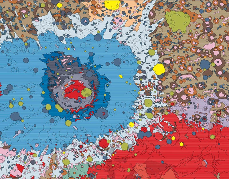 Beautiful astrogeological maps reveal the Moon's mysterious far side