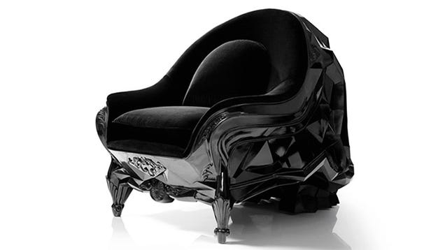 This must be Darth Vader's favorite chair