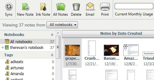 Evernote 3.5 for Windows Released, Introduces Better Interface