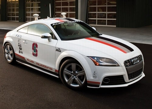 Driverless Audi TTS Gets New Colors, Plans For Pikes Peak