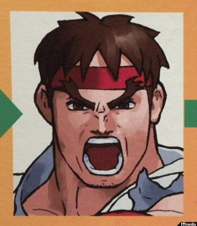 Ryu, Your Face Has Changed, Man