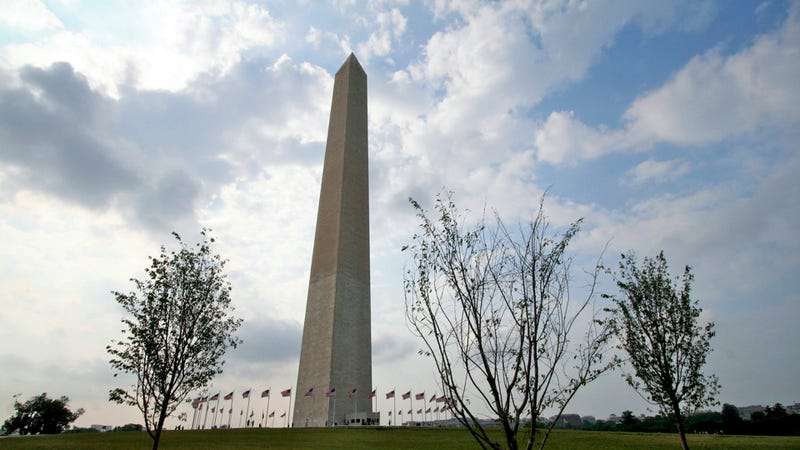 The Earthquake Cracked the Washington Monument