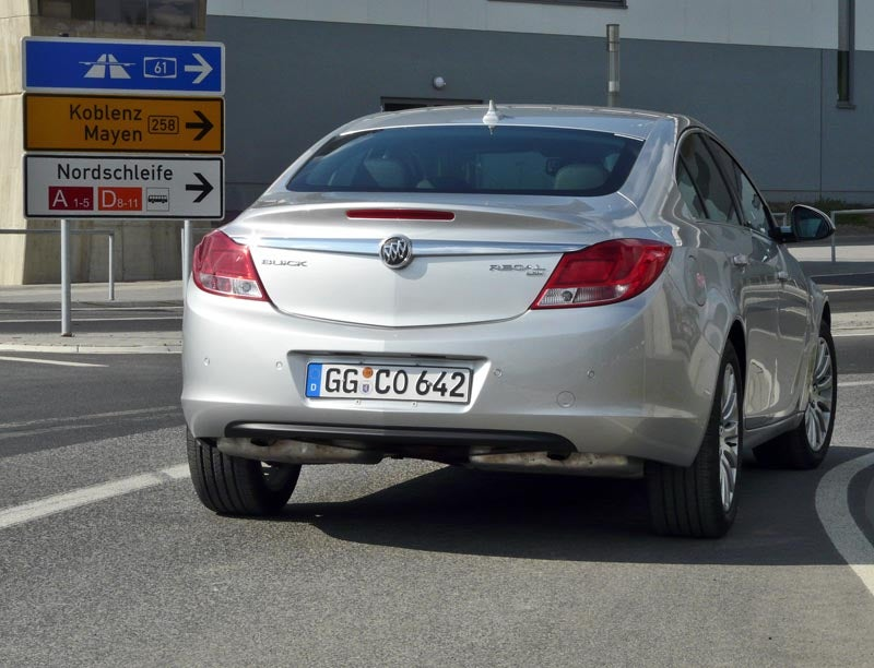 Driving The Nürburgring... In A Buick