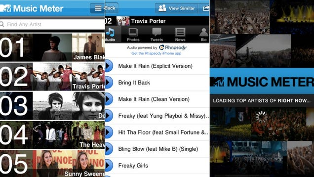 MTV Might Actually Help You Discover New Music Again With the Music Meter App