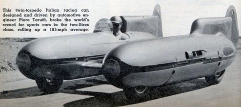 Piero Taruffi's 1952 Land Speed Record-Breaking Double Bullet