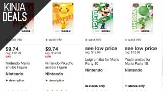 Target's Taking 25% off Amiibo Today