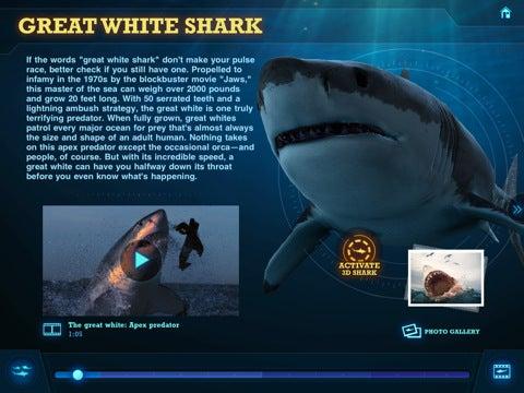 Ultimate Shark App Gallery