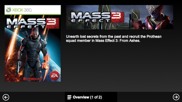 Mass Effect 3 DLC Pops Up Early on Xbox Marketplace, Spoils Plot Point [UPDATE]