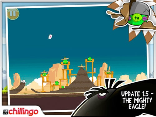 "Angry Birds' Level-Cheating ""Mighty Eagle"" Character Now Available in iPad App"