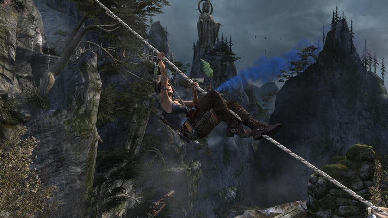 a comparison and contrast of tomb raider and uncharted two video games Instead, rise of the tomb raider is a rip-roaring saturday matinee of a video  game, which has traded original ideas for popular ones.