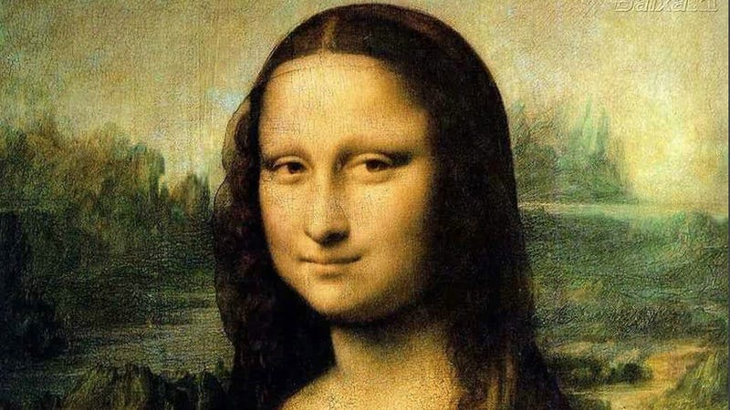 Thank China for Mona Lisa's New Hair Style
