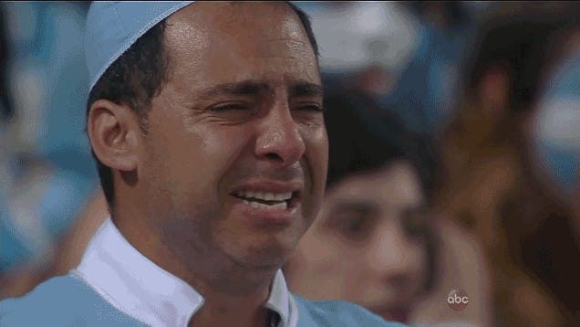 Here Are Some Devastated Argentina Fans