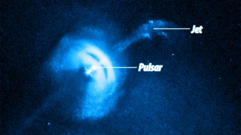 Did NASA Discover an Awesome Spaceship or Is This Pulsar Just Happy to See Us?