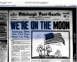 Google Launches Newspaper Digitization Project