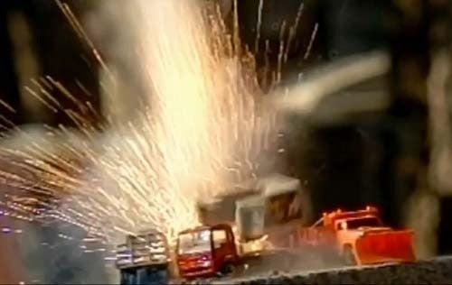 Blowin' Up Toy Cars In Slow Motion!