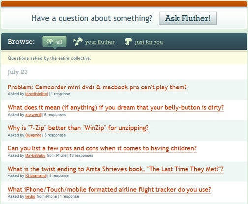 Fluther Gets the Answers to Your Questions