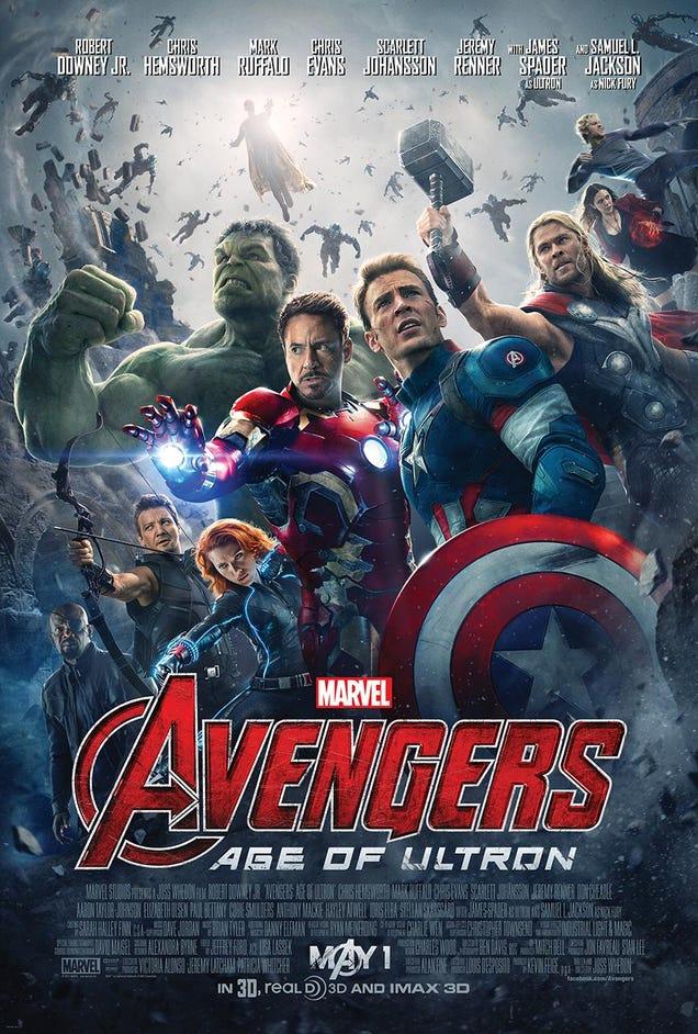 Ya está aquí el primer póster oficial de The Avengers: Age of Ultron