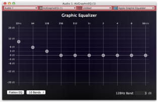 how to make itunes louders with equalizer